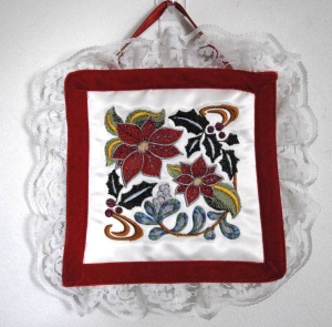 "Lace Wall Hanging 6""x6"""